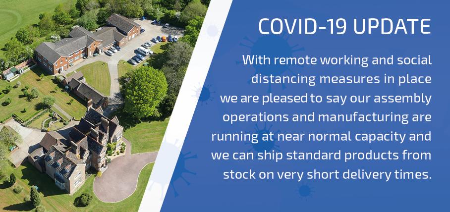 COVID-19 FC Lane Electronics update banner
