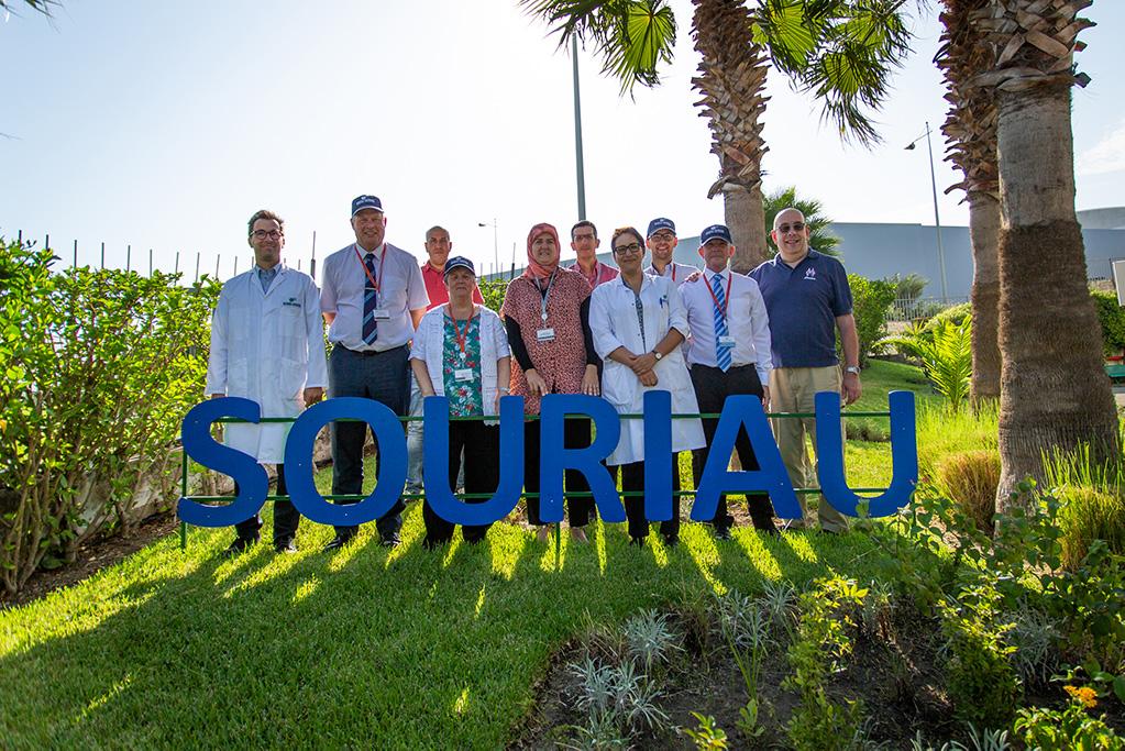 FC Lane Electronics visit at Souriau Tangier Factory