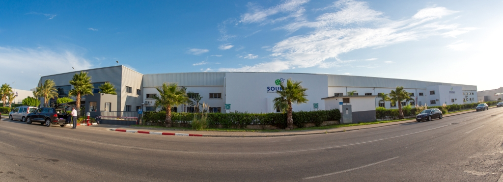 Souriau Factory at Tangier Morocco