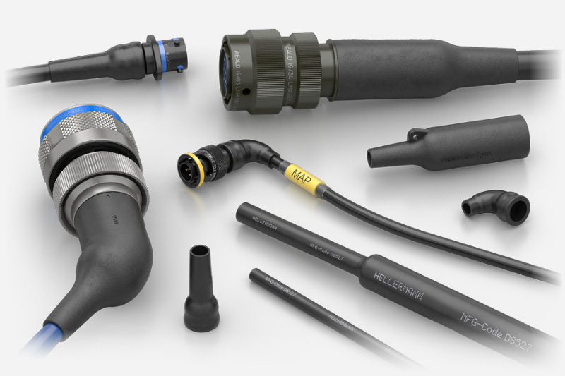 HellermannTyton Heat Shrink Boots MIL-DTL-38999 26482 8STA military connectors
