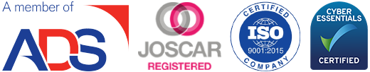 Joscar, ADS, ISO logos