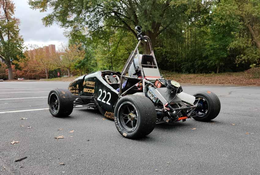 HyTech Racing car 2021