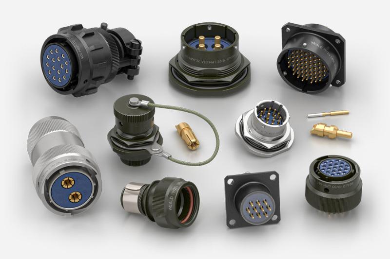 MIL DTL 26482 Series 1 Circular Connectors Weald Electronics LMH