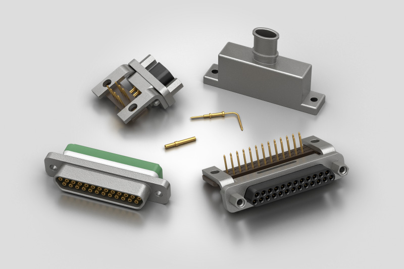 Souriau MicroComp Connectors