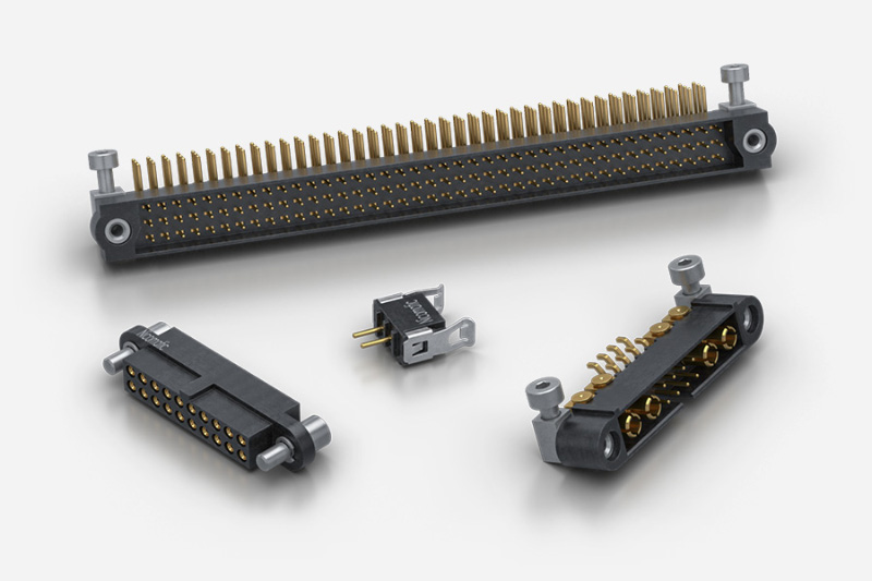 Nicomatic CMM Rectantular Micro Series Connectors to MIL-DTL-55302F