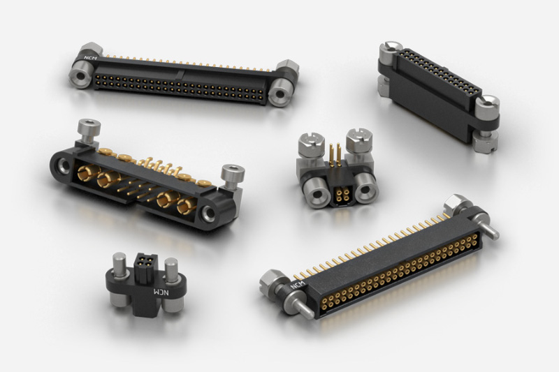 Nicomatic EMM motorsport autosport rectangular connectors