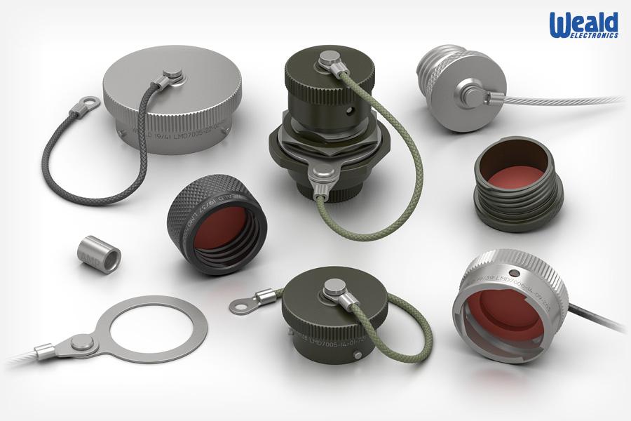 Protective Caps for MIL-DTL-38999 / 26482 Circular Connectors