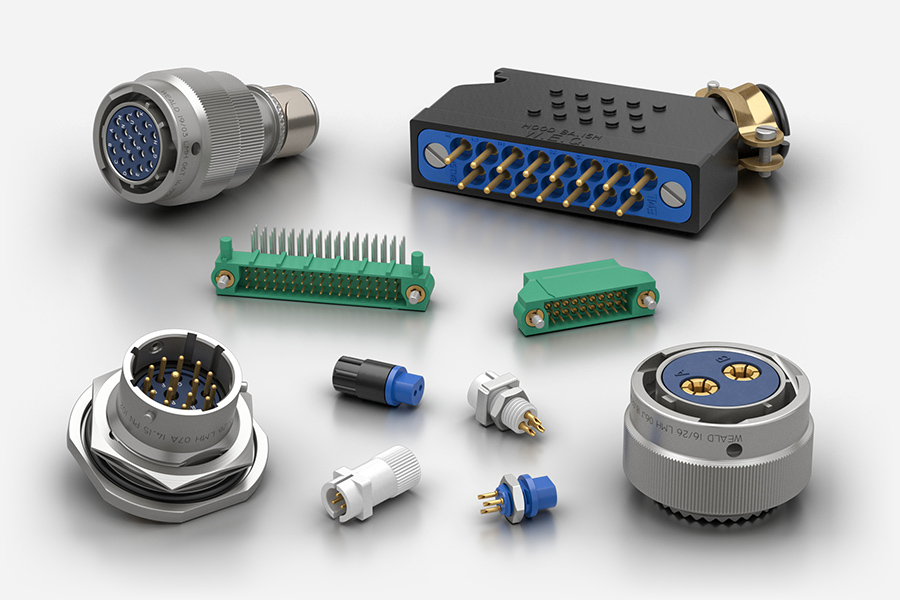 Weald Electronics electrical connectors for medical applications