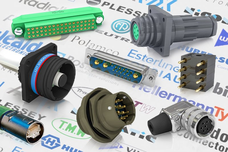 Electronic connectors from leading suppliers