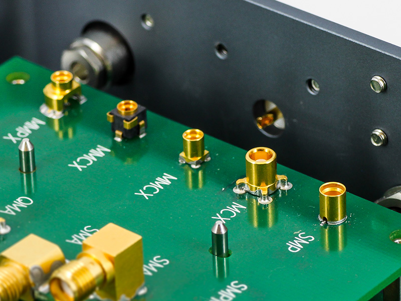 HUBER+SUHNER Connectors Board to Board