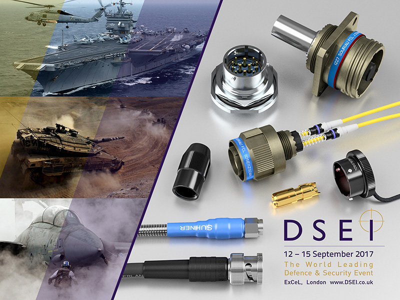 Lane Electronics at DSEI 2017