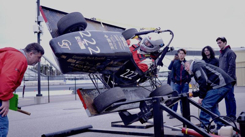 HyTech Racing Tilt Test
