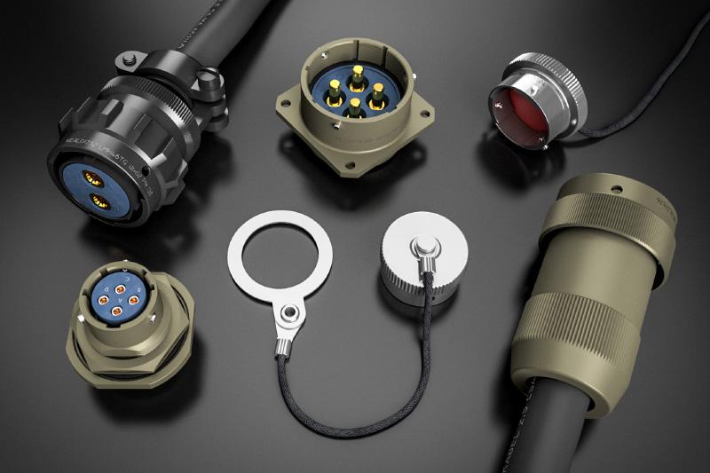 LMH Series Power Circular Connectors