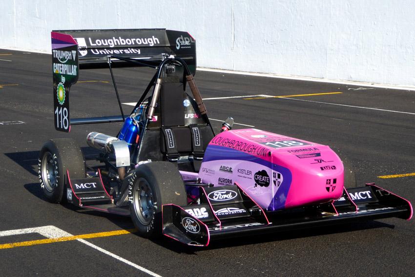 LU Motorsport 2018 Car