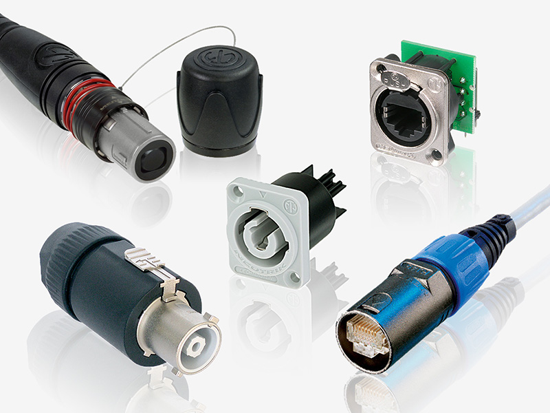 Neutrik Miniature Circular Connectors