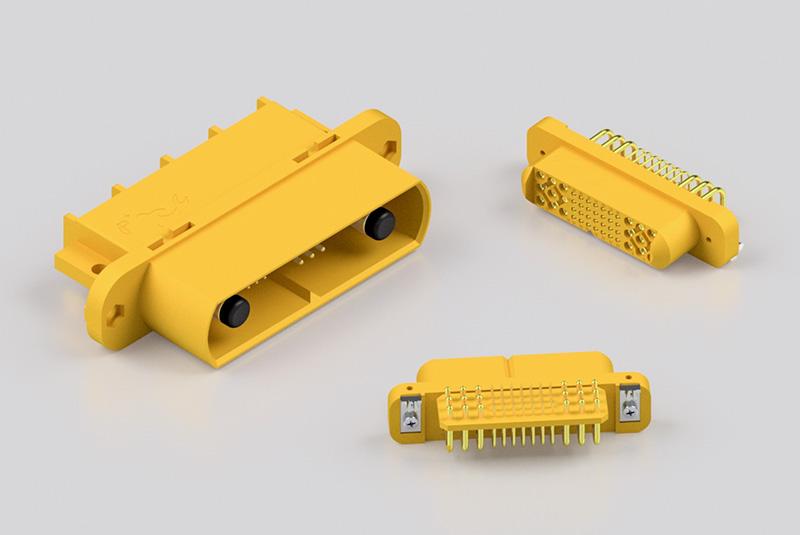 Positronic Goldfish Connectors