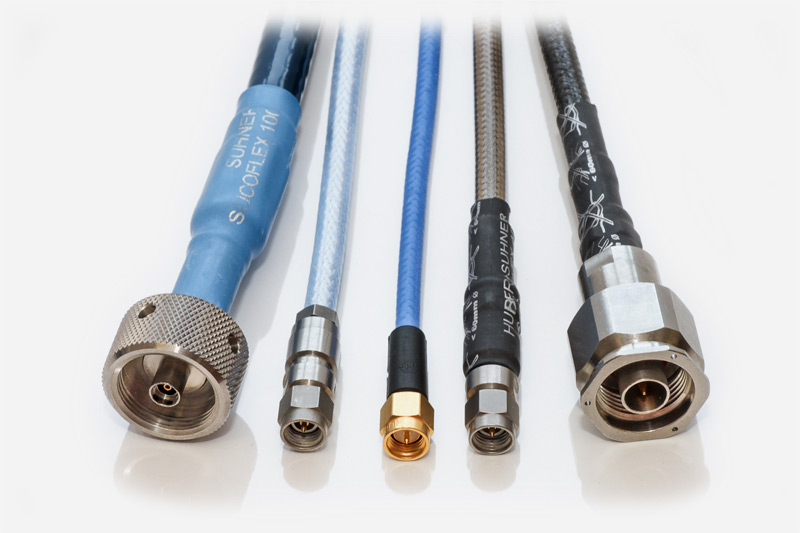 Huber+Suhner RF Cable Assemblies   FC Lane Electronics