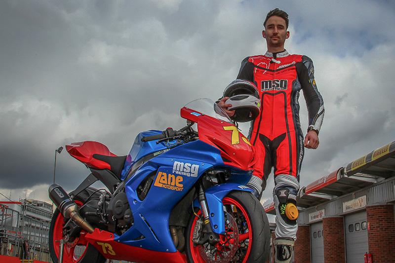 Sam Osborne of MSG Racing at Brands Hatch