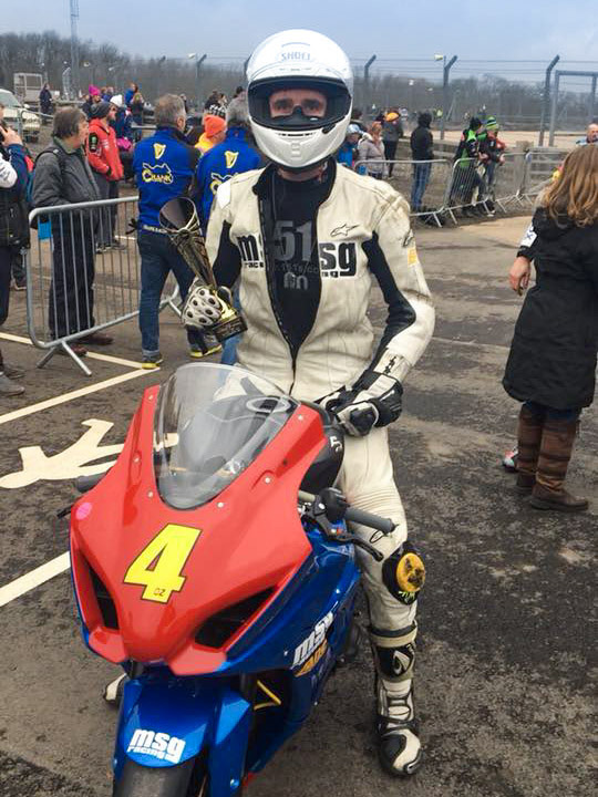 Sam Osborne triumphant at Donington