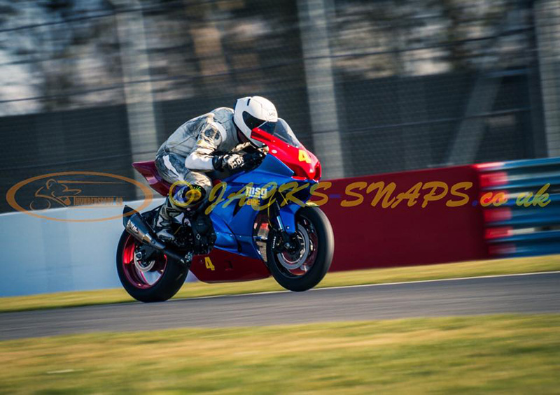 Sam Osborne at Donington