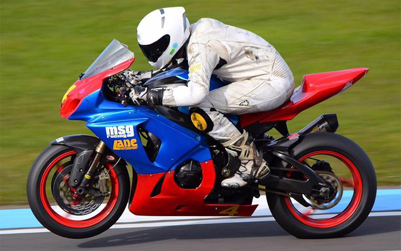 Sam Osborne at Snetterton