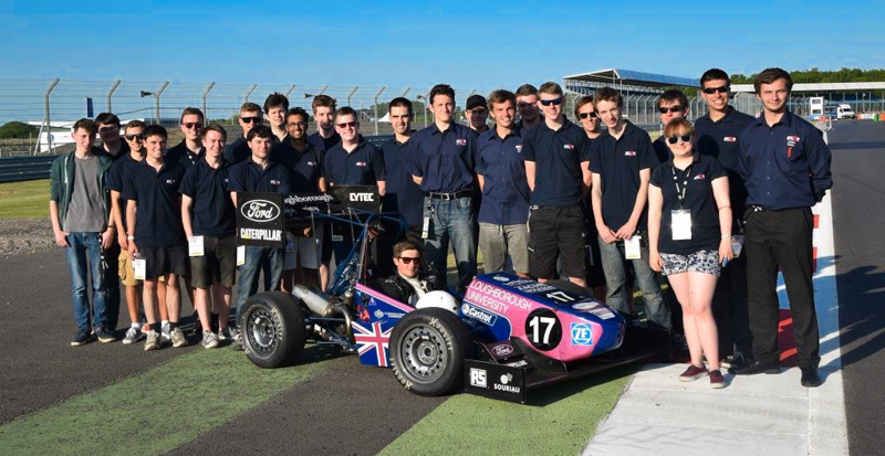 Souriau 8STA Connectors in 2015 Formula Student competition