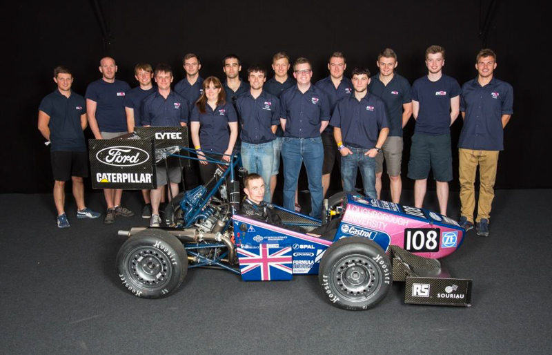 Lane Motorsport / Souriau 8STA Connectors in 2015 Formula Student competition