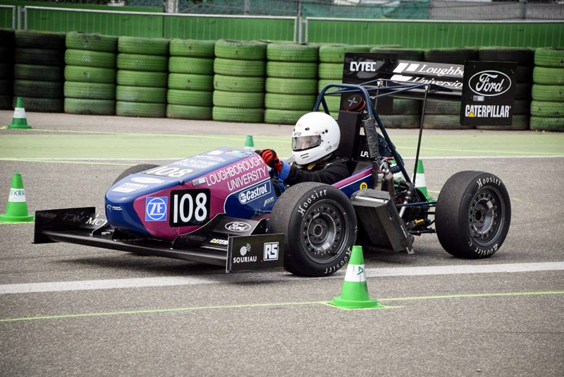 Souriau 8STA Connectors in 2015 Formula Student competition 2