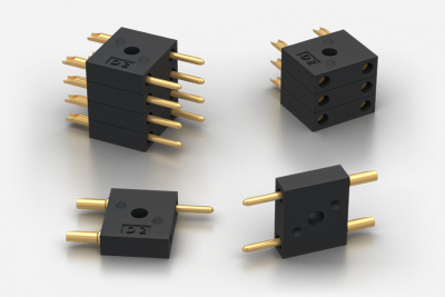 D2 Miniature Stackable 2-Pin Connectors 5A 500V Weald Electronics