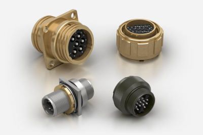 LMF IP67-IP68 Multi-Contact Circular Aluminium and Brass Connectors for Exposed Environments