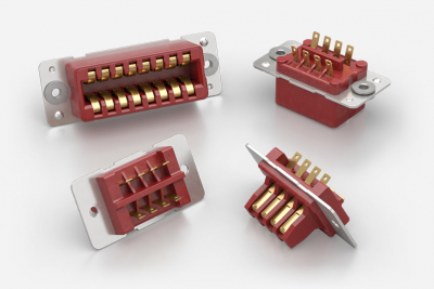 Red Range ITW McMurdo 5A 800V AC/DC 8, 16, 24 and 32-way Electrical Connectors