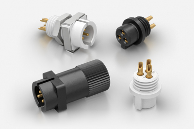 Weald SMC Series - 500V Plastic Circular Connectors for Test and Measurement and Laboratory Equipment