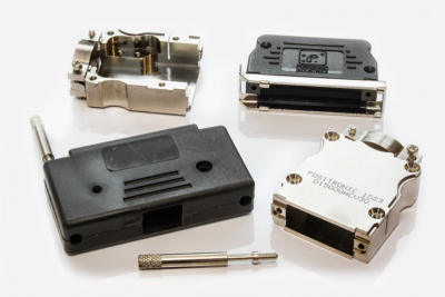 D Sub-Miniature and Rectangular Connector Accessories: Cable Adaptors, Hoods, Screwlocks, Insertion and Extraction Tooling