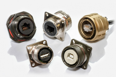 Polamco MIL-DTL-38999 USB / RJ45 Circular Connectors