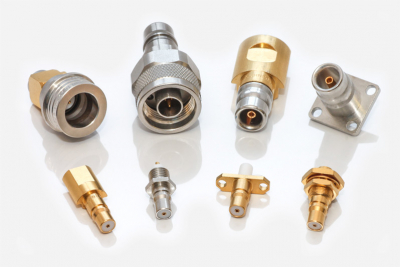 HUBER+SUHNER QMA and QN Snap-On type RF Connectors