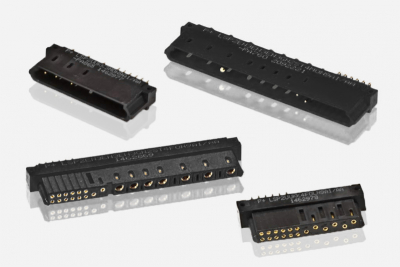 Scorpion Low Profile rack and panel connectors from Positronic