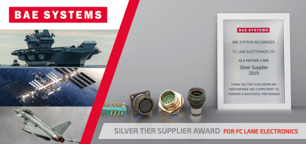 Lane Electronics awarded Silver by BAE Systems