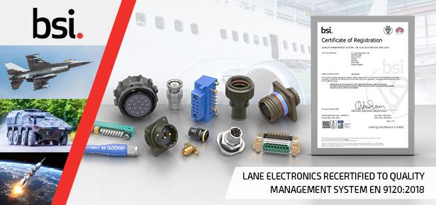 BSI EN 9120:2018 Certificate for FC Lane Electronics
