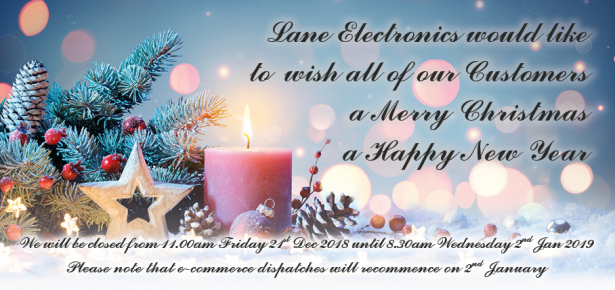 Merry Christmas and a Happy New Year from Lane Electronics
