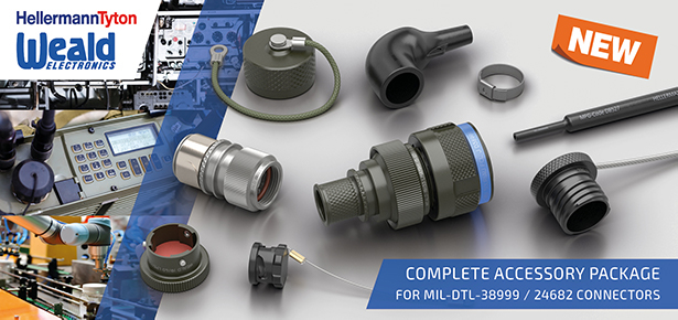 MIL-DTL-38999 and 26482 Connector Backsells, Caps and Heat Shrink Boots