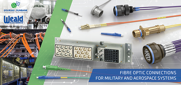 ELIO fibre optic connectors for military and aerospace applications