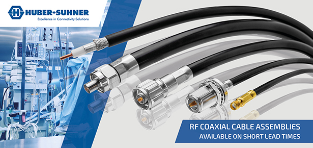 RF Cable Assemblies available on short lead times