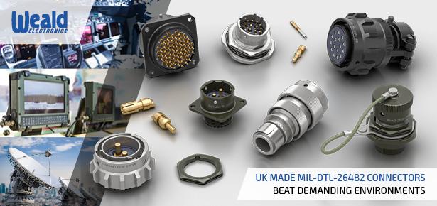 LMH Range / MIL-DTL-26482 Series 1 Circular Military Connectors