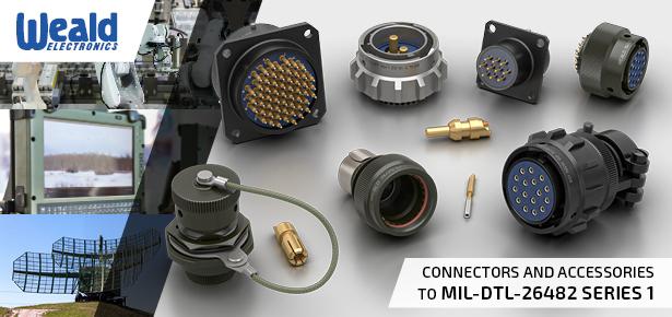 MIL-DTL-26482 Series 1 Circular Military Connectors - LMH Range - UK Made