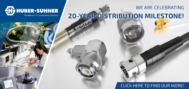 Huber+Suhner 20 years distribution anniversary by FC Lane Electronics