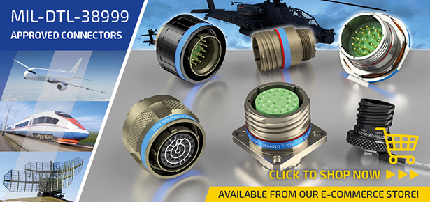 8D Series / D38999 Souriau Connectors available from online store