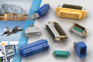 Positronic D-sub, Scorpion and rectangular connectors for military, aerospace, medical and industrial applications