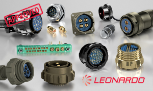 Leonardo approved Weald Electronics electrical connectors