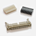 IDC DIN connectors from Pancon and AVX.
