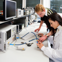 Electrical connectors for test and measurement applications.